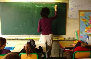 Classe cycle 3 à l'école nouvelle d'Antony - Photo PE Weck 2005 -- CC BY-SA 2.5
