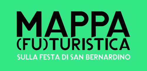 Mappa (fu)turistica sulla festa di San Bernardino